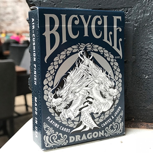 바이시클 드래곤 카드 블루 (Bicycle Dragon Playing Cards (Blue) by USPCC)