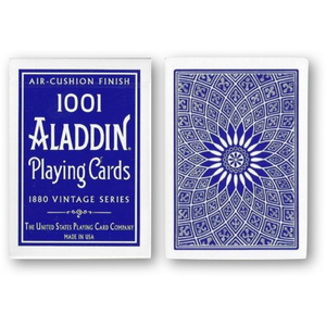 알라딘 돔백 블루 (Vintage 1001 Aladdin Dome Back Playing Cards - Blue)